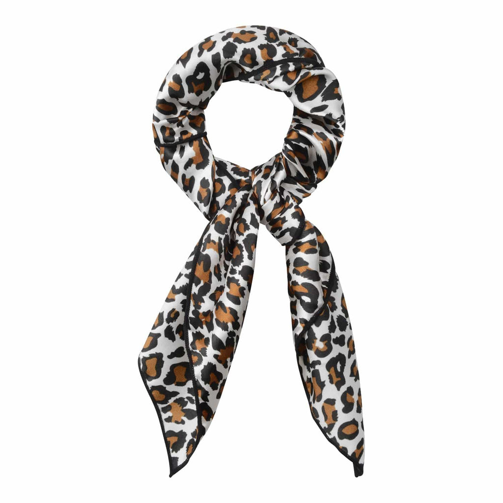 Miley Leopard Print Hair Scarf