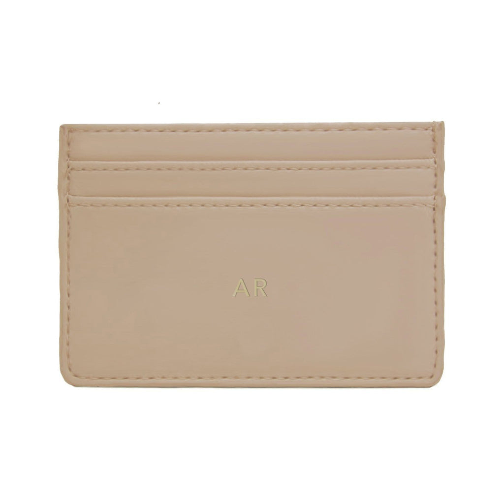 Fawn Soft Vegan Leather Sam Card Holder Purse