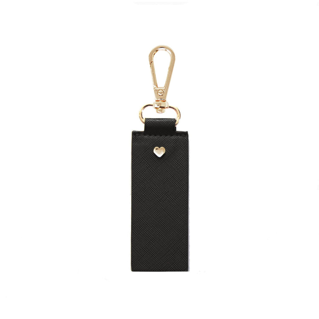 black-Archie-keyring-straight-johnny-loves-rosie-accessories