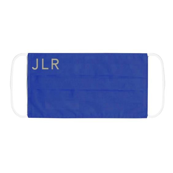 Personalised Blue JLR Protective Face Mask