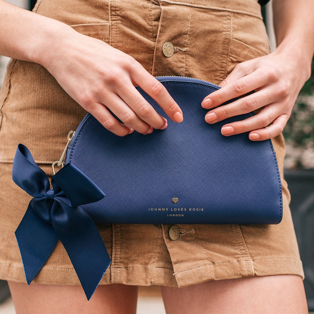 navy-pouch-bag-half-moon-bow-detail-vegan-leather-megan-johnny-loves-rosie-accessories