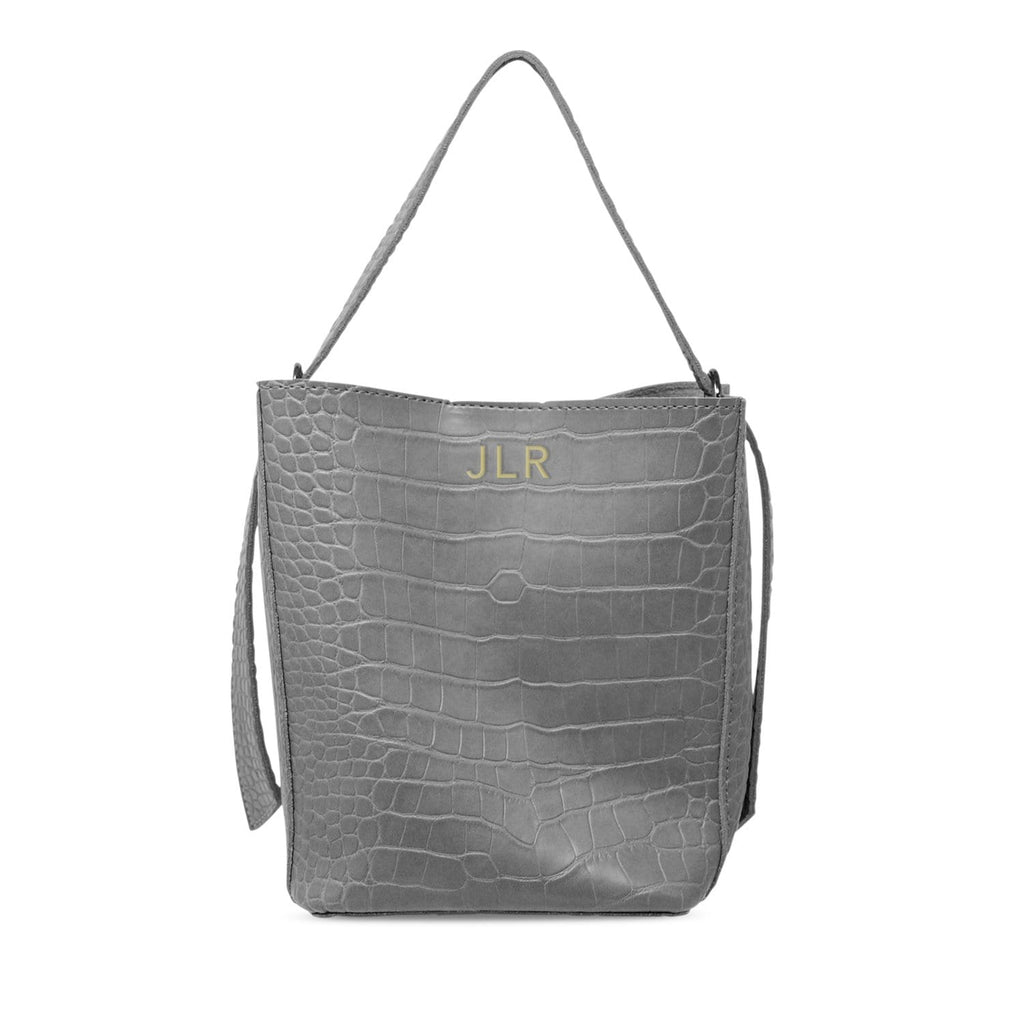 charcoal-bag-croc-print-bucket-mila-johnny-loves-rosie-accessories