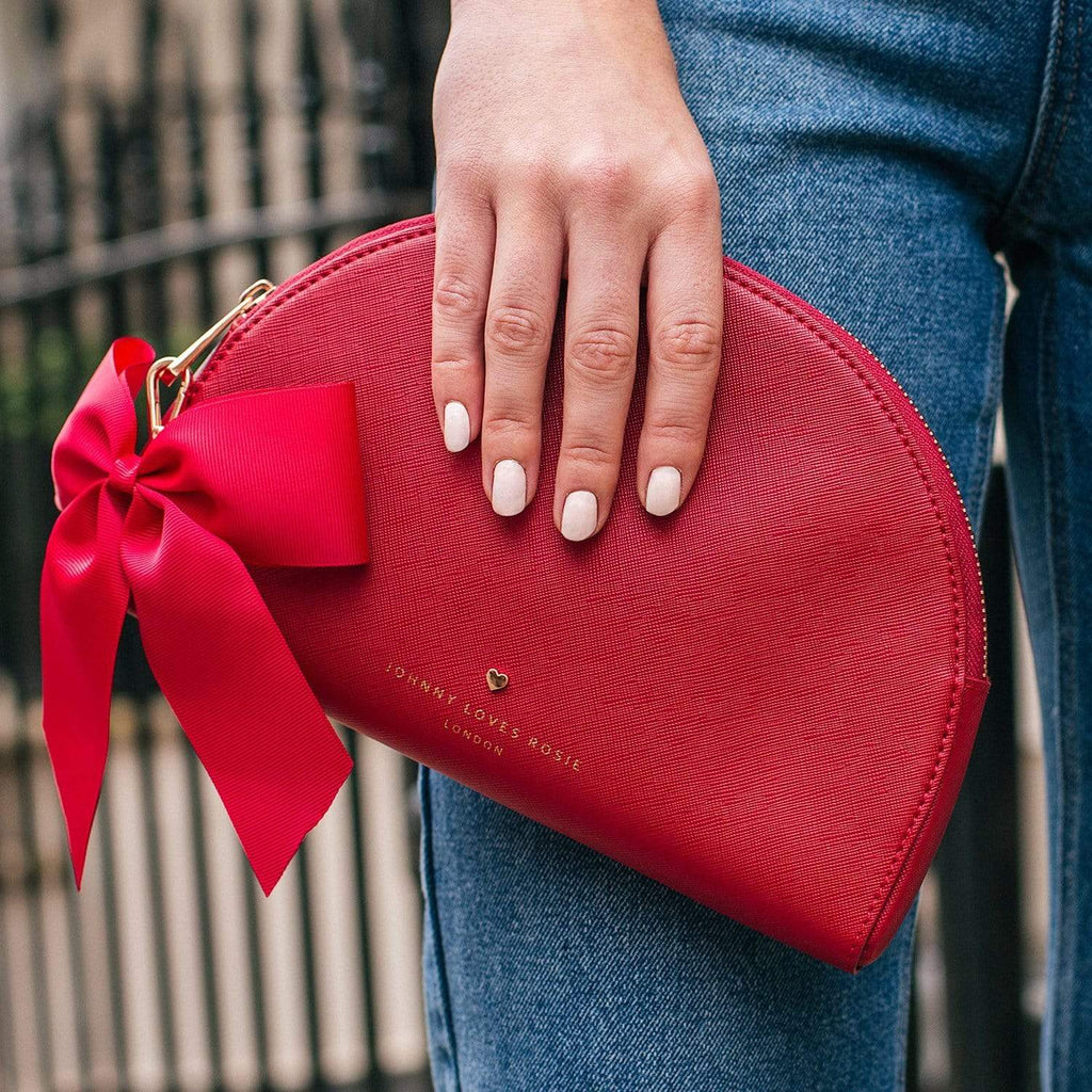 red-pouch-bag-half-moon-bow-detail-vegan-leather-megan-johnny-loves-rosie-accessories