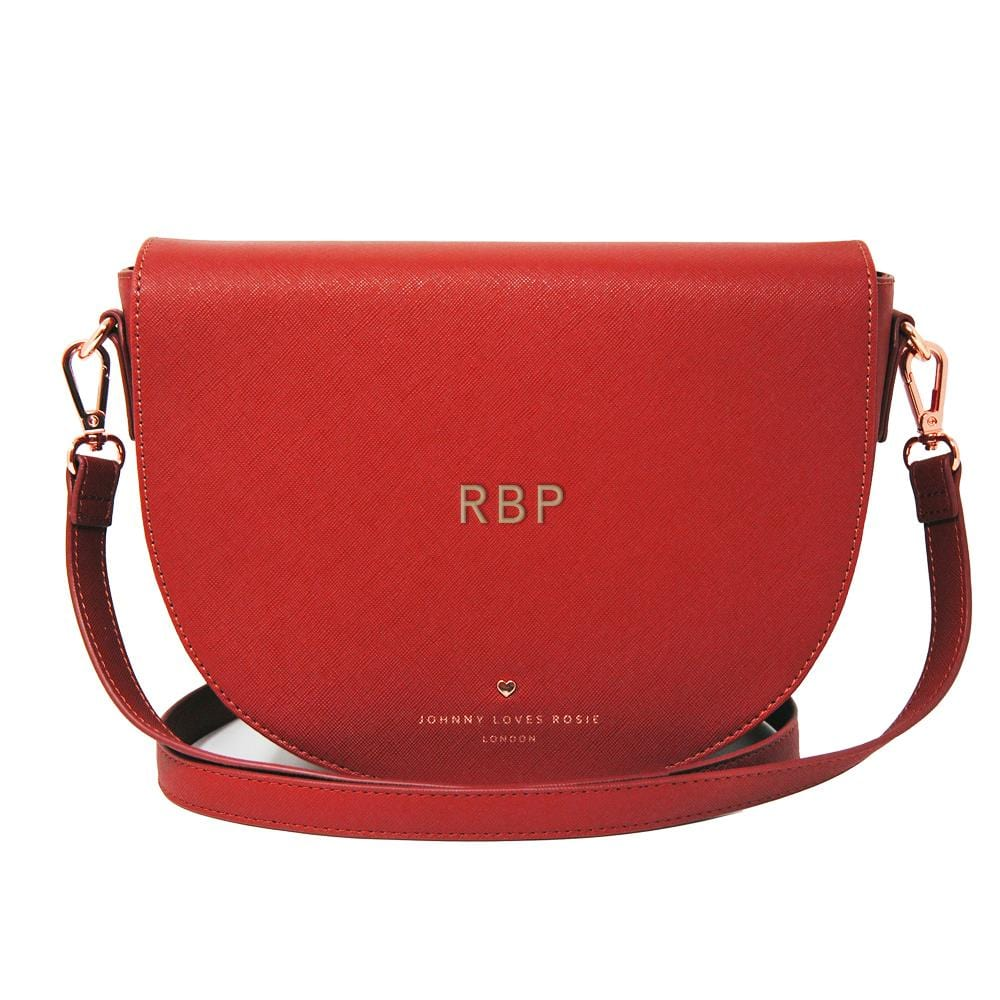 red-saddle-bag-embossed-initials-gold-tote-vegan-leather-sadie-johnny-loves-rosie-accessories