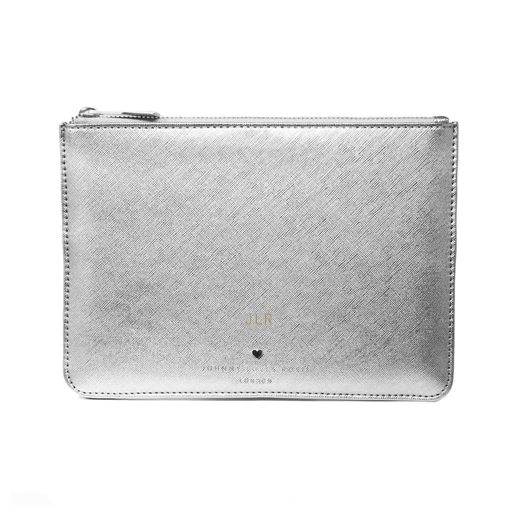 silver-pouch-bag-bow-vegan-leather-blair-johnny-loves-rosie-accessories