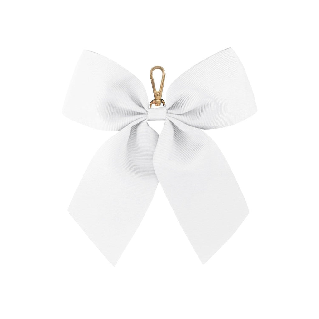 white-bow-keyring-eloise-johnny-loves-rosie-accessories