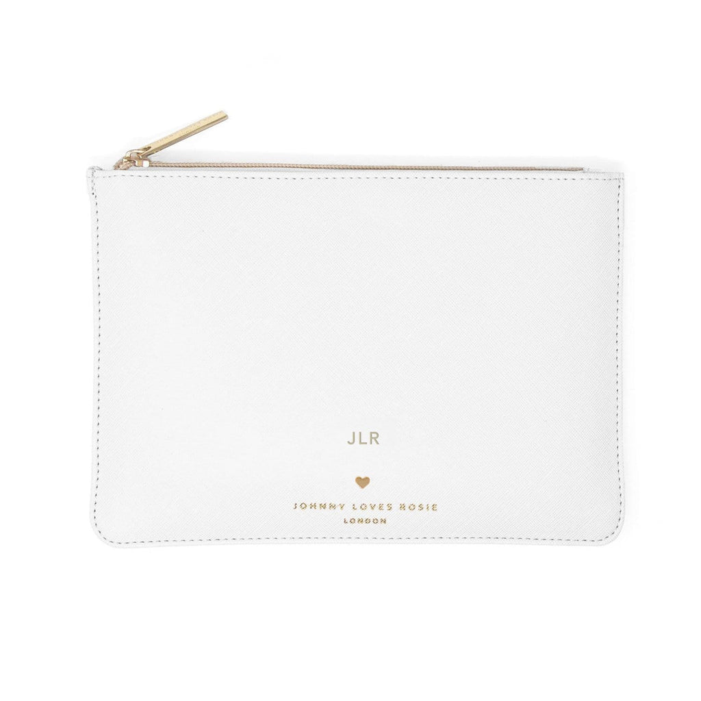 white-clutch-pouch-bag-rectangle-bow-gold-johnny-loves-rosie-accessories