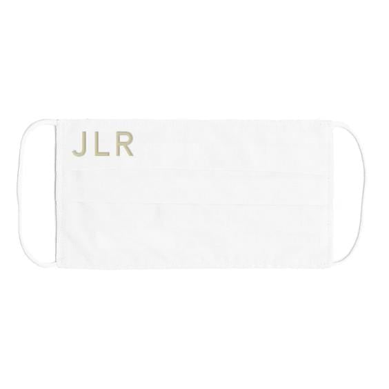 Personalised-white-face-mask-johnny-loves-rosie-accessories
