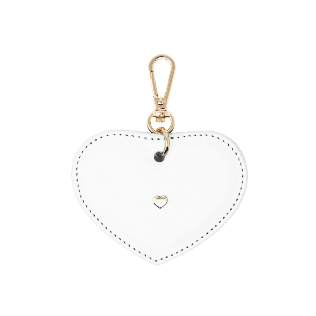 white-keyring-heart-cale-johnny-loves-rosie-accessories