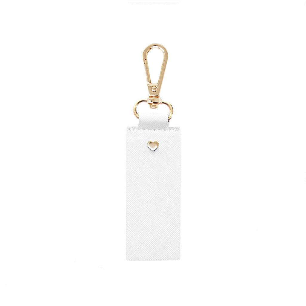 white-archie-keyring-straight-johnny-loves-rosie-accessories