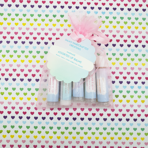 Flavored Lip Balm - Dalia's Handcrafted Creations