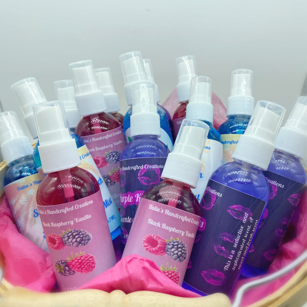 Body Mist, Scented Body spray - Dalia's Handcrafted Creations