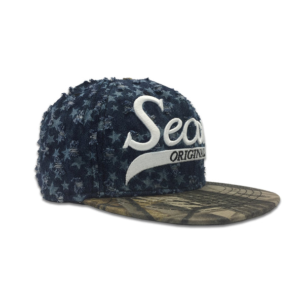 Stars Blue/Brown Snapback