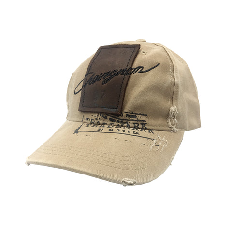 Stylish Brown Adjustable Cap