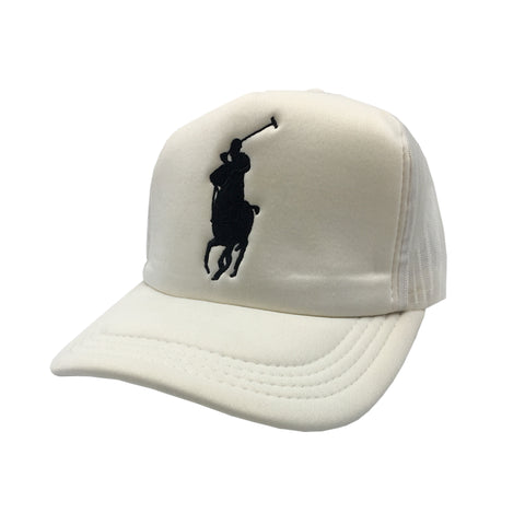 Polo White Cap