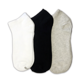 Pack of 3 - Ankle Socks - 3 Colors