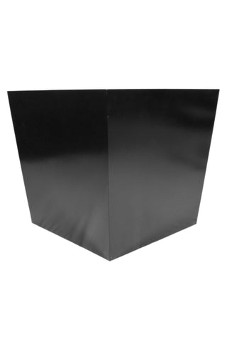 Large Black Square Planter