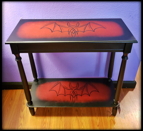 Red Bat Accent Table