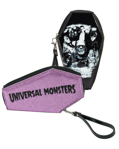 Universal Collage Coffin Wallet