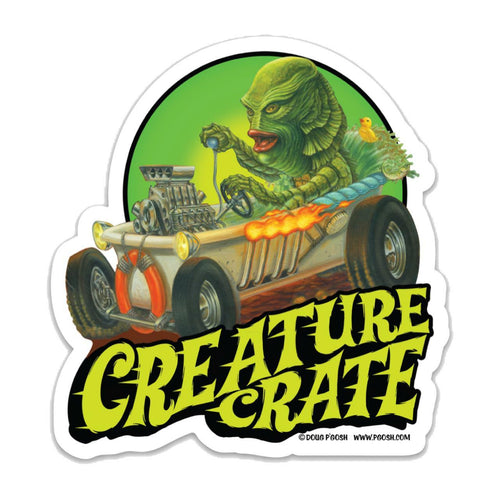 Creature Crate Sticker