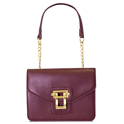 Burgundy Crossbody Bag