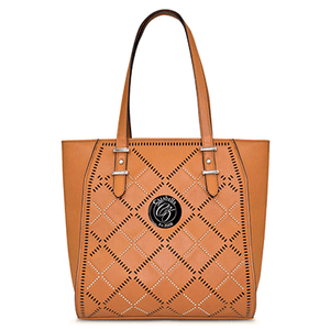 Large Tan Satchel Bag