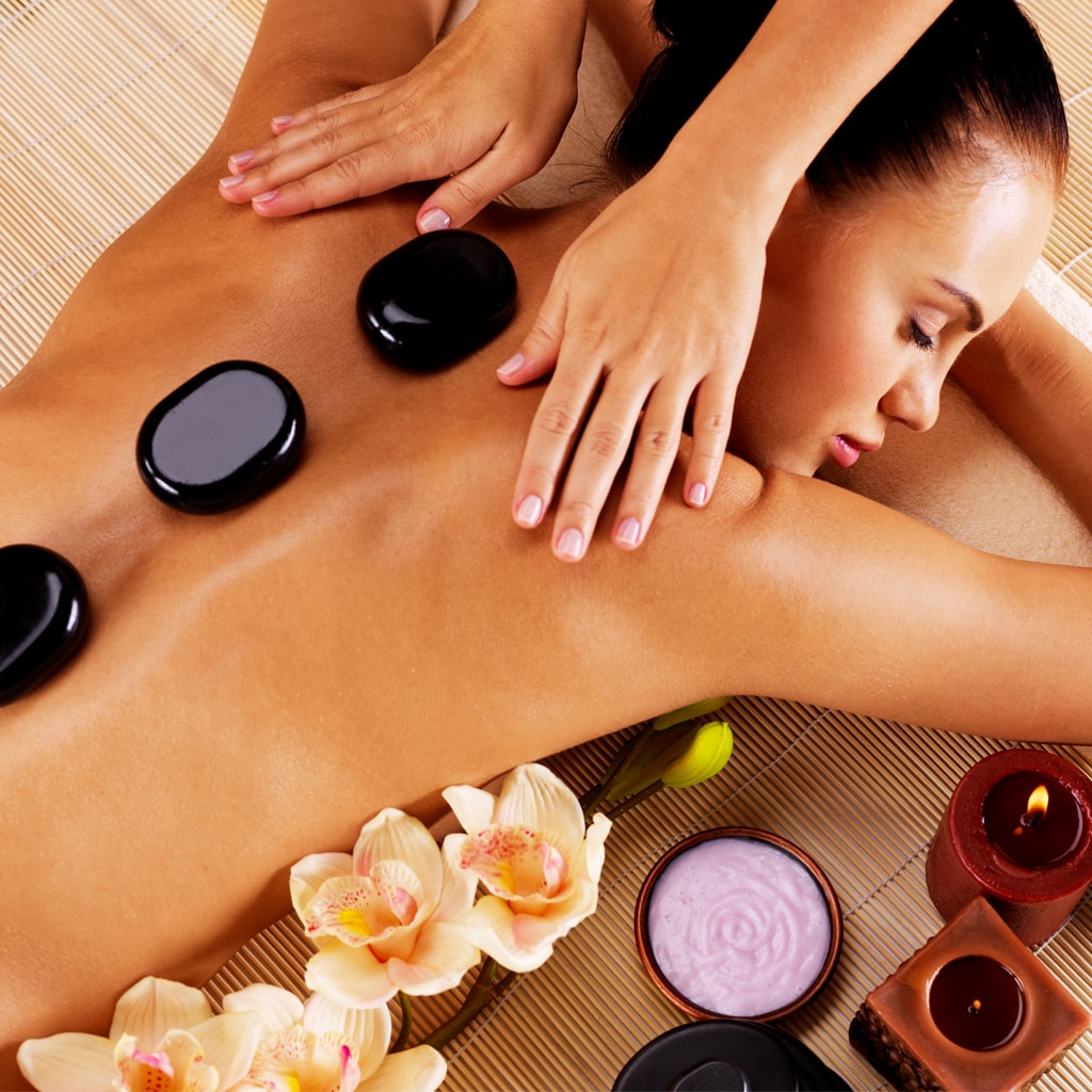 Hot Stone Full Body Massage (80 mins)