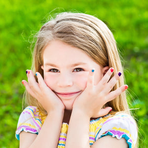 Kids Manicure And Pedicure (50 mins)