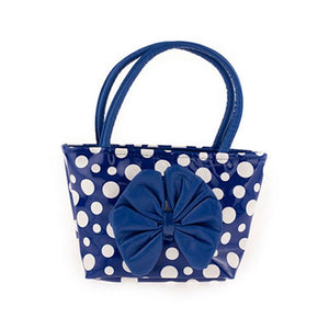 Ladies Polka Dot Bag with Bow