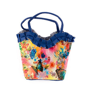 Ladies Floral Bag with Lace