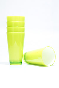 Colourful Cup 350ML – Lime Green (X1)