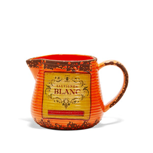 Country Style Ceramic Jug - Sauvignon Blanc Label