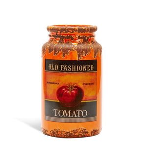 Country Style Ceramic Jar - Tomato Label
