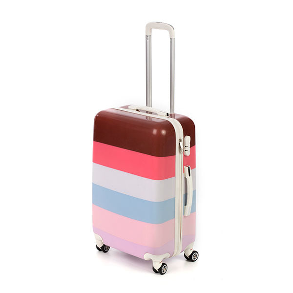 Multicolour Hard Side Spinner Case (58cm)