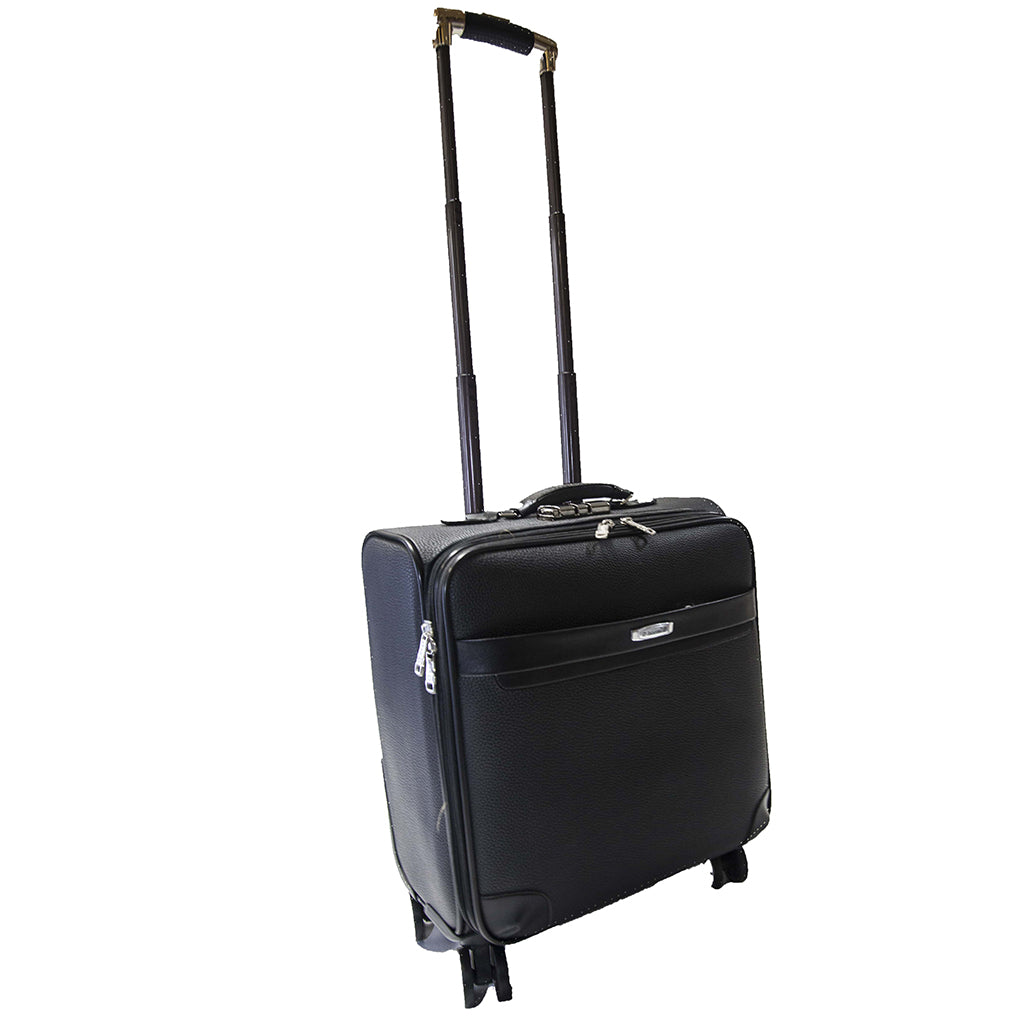 Black Hardside Spinner Brief Case (52cm)