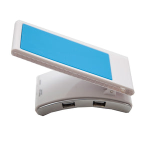 USB 4 Port Hub with Cell Phone and Stationery Holder