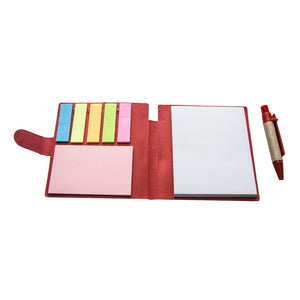 Sticky-Memo Mini Notepad & Pen