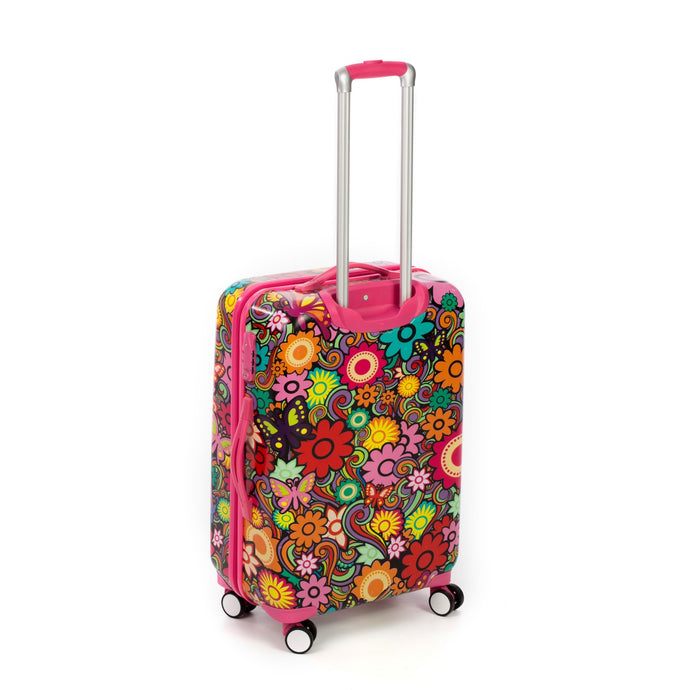 Floral Hard Side Spinner Case (77cm)