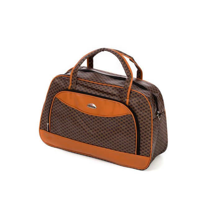 Designer Travel Bag (Brown)