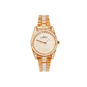 Watch with Diamante Face and Diamante Strap