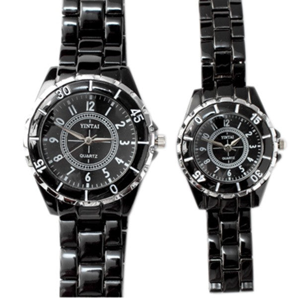 Black Watch with Black Facel (Set of 2)