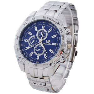 Casual Stainless Steel Business Wristwatch