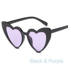 Load image into Gallery viewer, Retro Heart Shaped  Sunglasses