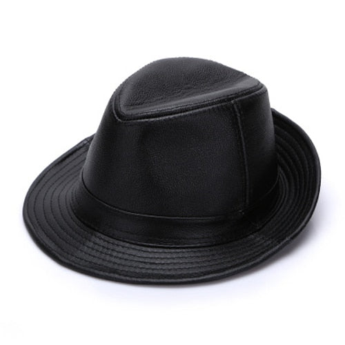 Men's Genuine Cowhide Leather Hats
