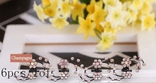 Load image into Gallery viewer, Woman's Luxury Small Pearl Crystal Rhinestone Hairpins