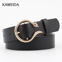 Load image into Gallery viewer, Women's Vintage Trendy Circle Pin Buckle Leather Belt