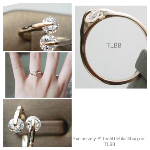 TLBB Elegance Crystal Ring ( Bridesmaids Label )