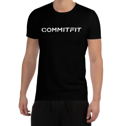 Men's CommitFit Sports T Shirt Black