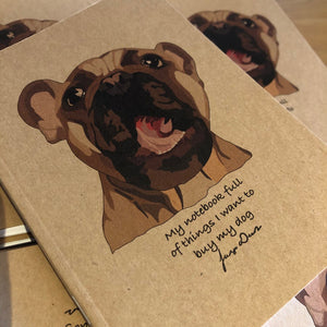 JANGO WEARS - My Dogs Shopping Notebook A6