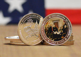 Declaration of Independence Commemorative Coin